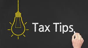 Tax Tips 2019