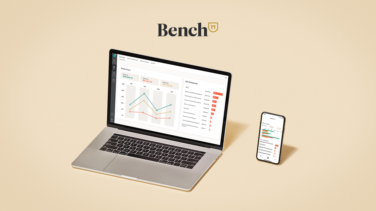 Betterpay Introduces Bench Bookkeeping For Merchants